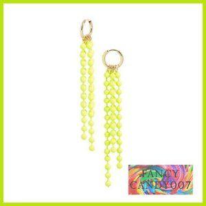 🍋 New!! Ball Chain Linear Drop Earrings